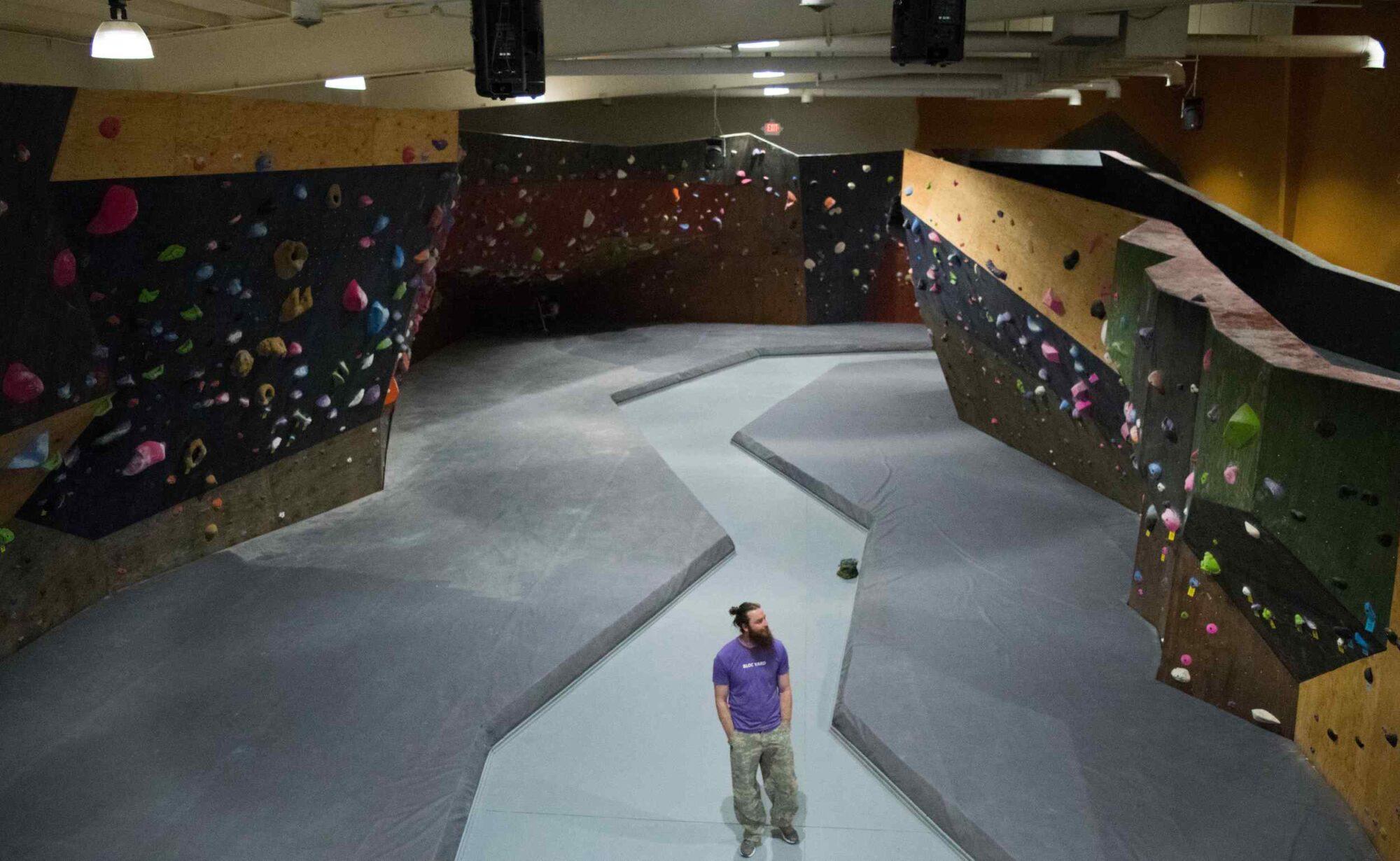 Bloc Yard Bouldering Gym